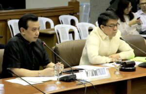 The Blue Ribbon Sub-Committee, chaired by Sen. Koko Pimentel, resumes its inquiry on the alleged overpricing of the 11-storey new Makati City II Parking Building, the 22-storey Makati City Hall Building and related anomalies. (MNS photo)