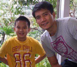 Bimby and James Yap (MNS Photo)