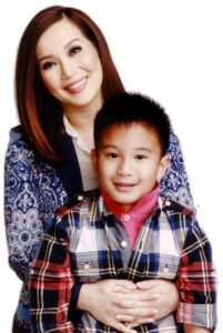 Kris Aquino and her son, actor Bimby Aquino-Yap, Jr. (MNS photo)