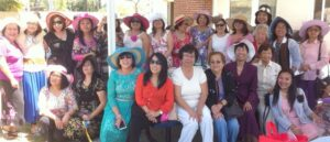 """Mothers Day at CCF: Mothers of Cornerstone Christian Fellowship of Orange County, a Filipino-American church based  in Fullerton joined the mothers nationwide in commemorating Mothers Day with a  """"Tea Party"""" in their honor."""