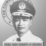 PAF 3rd Commanding General, Brig. Gen. Benito N Ebuen
