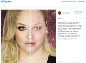 """YouTube beauty hit Nikkie Tutorials caused an online sensation with her video """"The Power of MAKEUP!"""" ©2015 INSTAGRAM"""