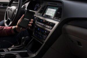 Android Auto in the 2015 Hyundai Sonata. ©Hyundai