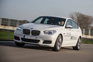 BMW Power eDrive demonstration: The powertrain will be used in BMW's flagship models. ©BMW Group