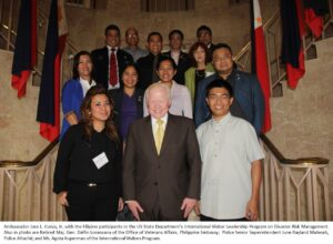 9 Philippine government officials are currently in Washington D.C. to attend the US State Department's International Visitor Leadership Program (IVLP) on disaster risk management