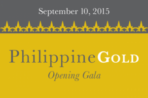 This Gala Benefit Dinner will celebrate the exhibition opening of Philippine Gold: Treasures of Forgotten Kingdoms and the launch of a season of programming that highlights the richness and diversity of Philippine culture and current affairs, and explores its cuisine, performing arts, film, design, literature, and more. (http://asiasociety.org/)