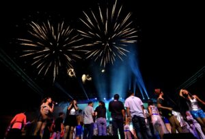 GENERAL SANTOS CITY (4 September 2015) - The 17th Tuna Festival opens with sky art Tuesday, September 1. It ends on Sunday. (Gensan CPIO/Russell Delvo)