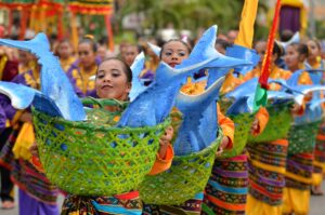 Gensan presents Tuna Festival in General Santos City (8 September 2015) – The 17th Tuna Festival features students clad in colorfully- and tuna-inspired costumes while dancing in Pioneer Avenue towards the Oval Plaza Stadium during the Tuna Festival street dancing competition Sunday, September 6. The participants were Christian School of Polomolok, Polomolok Poblacion National High School, Sto. Nino National High School (Polomolok), and the Goldenstate College of Gensan. (Gensan CPIO/ Russell Delvo)