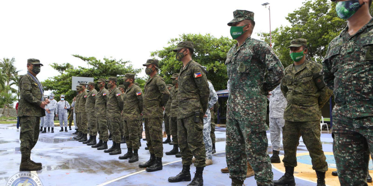 TROOPS LAUDED FOR SUCCESSFUL OPS VS. REDS IN MASBATE MINE BLAST