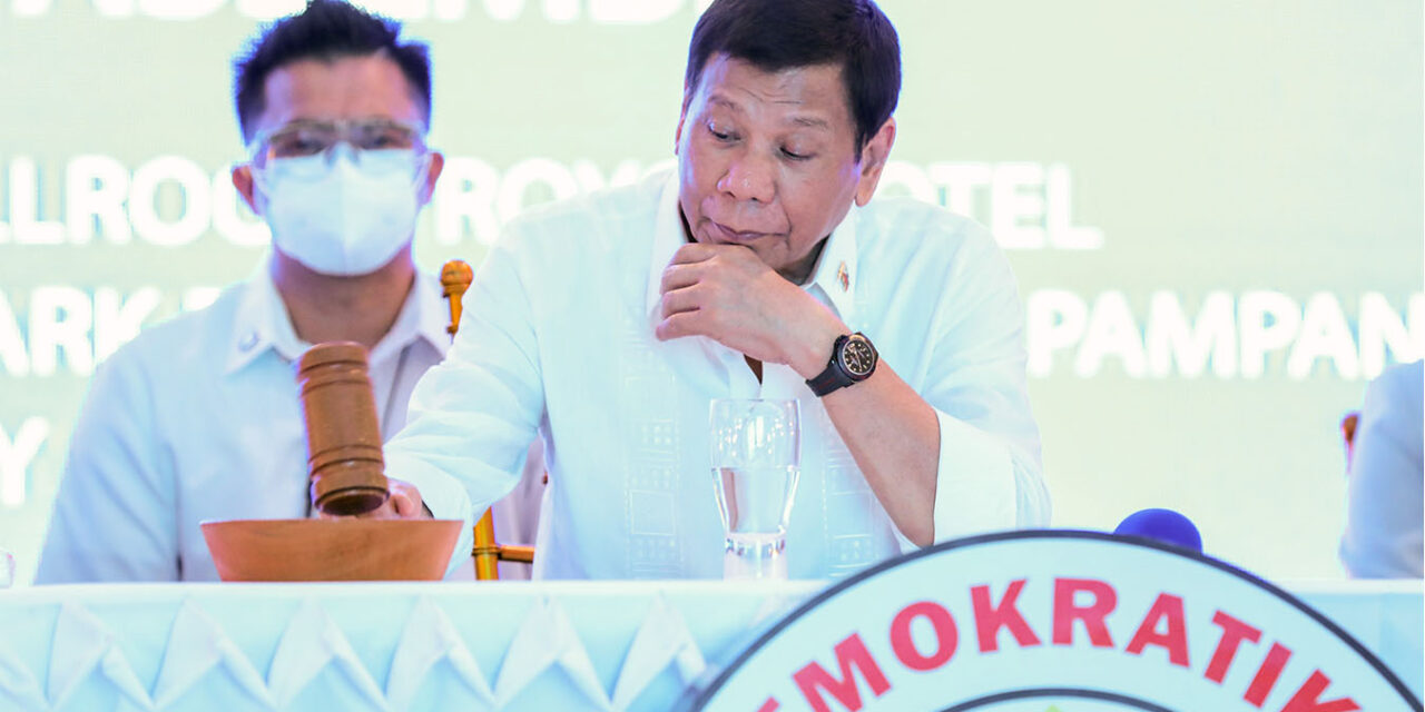Duterte's real intention behind possible VP bid is to become successor-president — solon