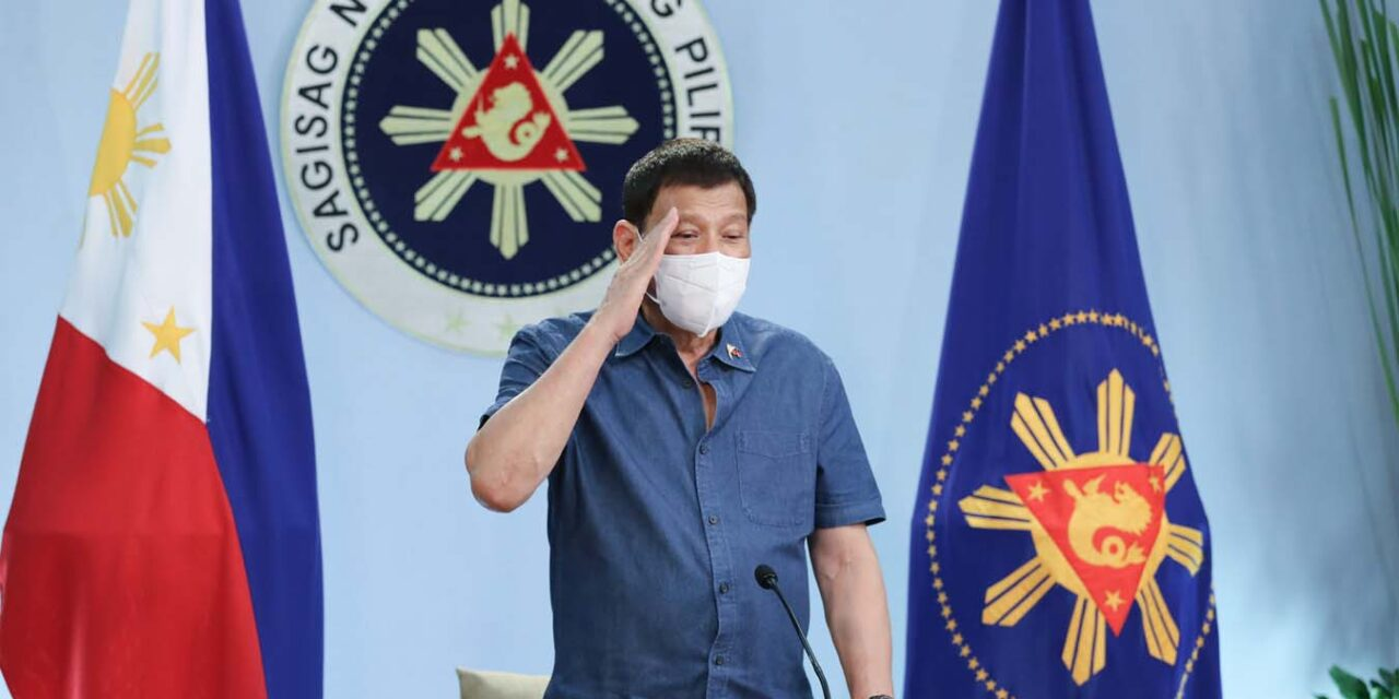 Pandemic hampered 'governmental operations' — PRRD