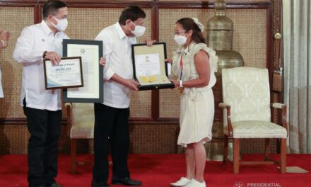 AFP confers military awards on Hidilyn, Eumir for Olympic feats