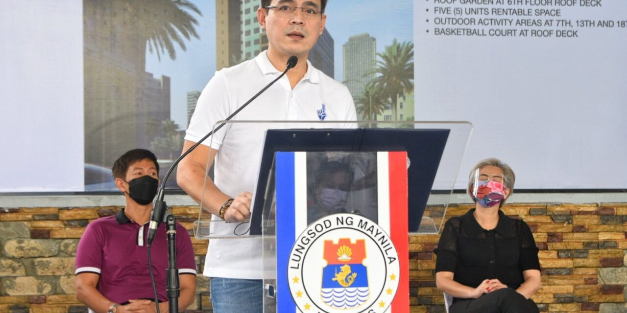 Isko Moreno confirms meeting with Robredo, Pacquiao ahead of filing of candidacy