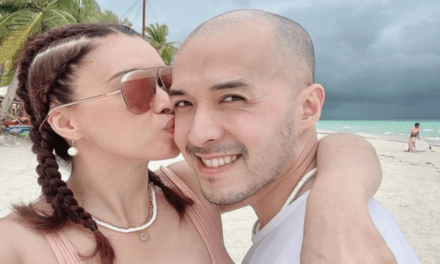 Sunshine Cruz describes Macky Mathay as a 'supportive and loving partner'