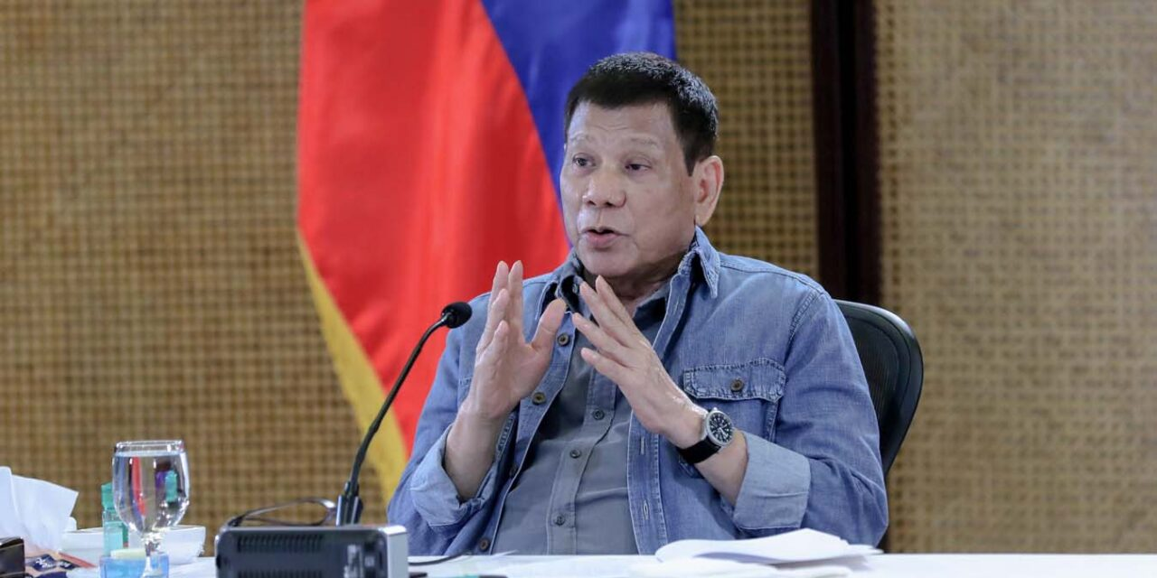 Duterte 'confident' vaccination target of major cities will be met before Christmas