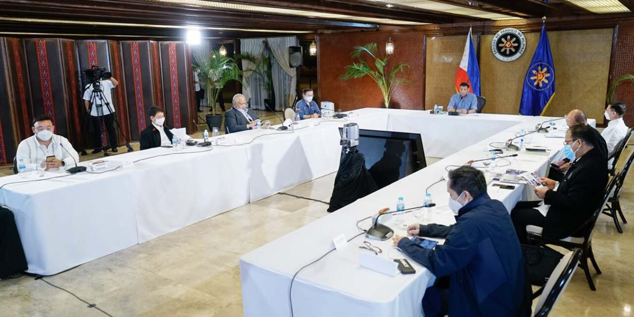 Palace sees eased COVID-19 restrictions in NCR after October 15